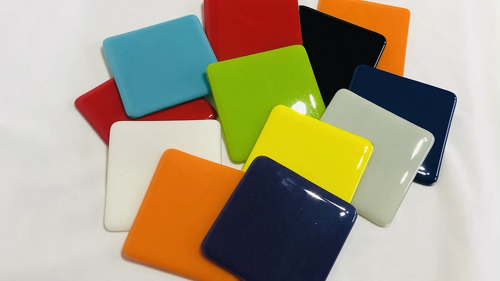 Quality Coasters/Wall tiles - various colours