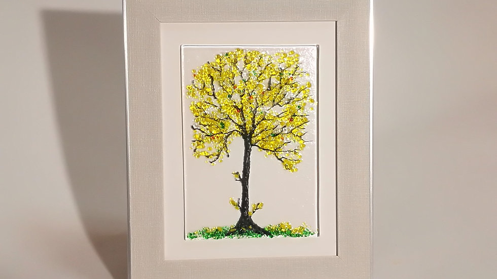 Framed picture - Seasonal tree