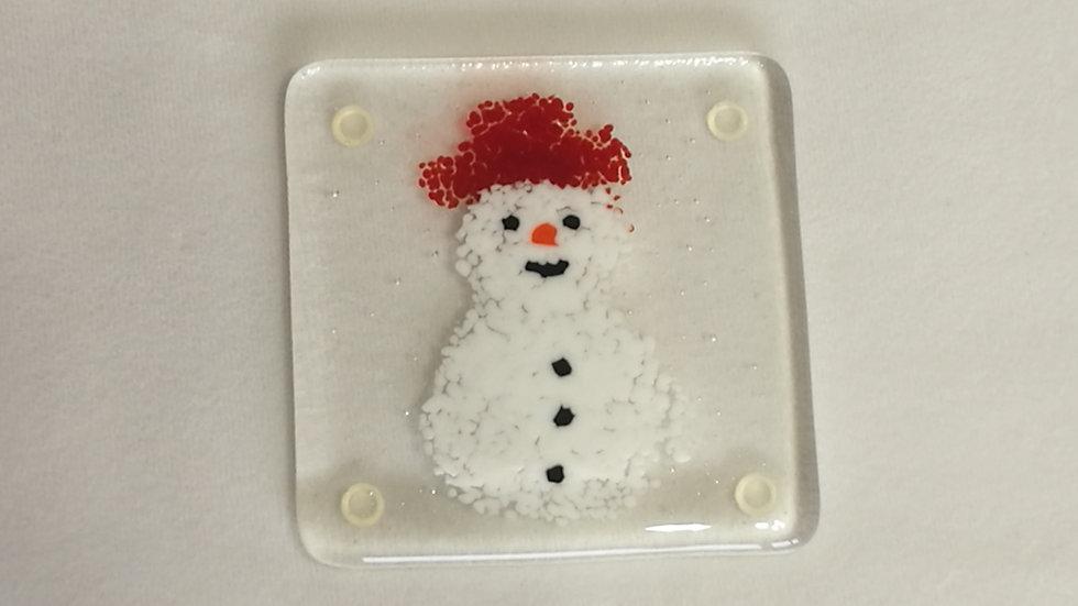 Coaster - snowman