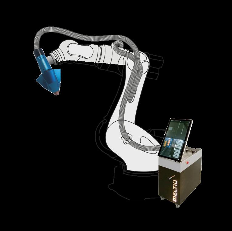 Meltio Robot Metal 3D Printing