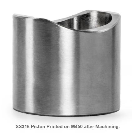 3D Printed Piston