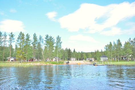 Palojärven Lomakeskus, rantaa