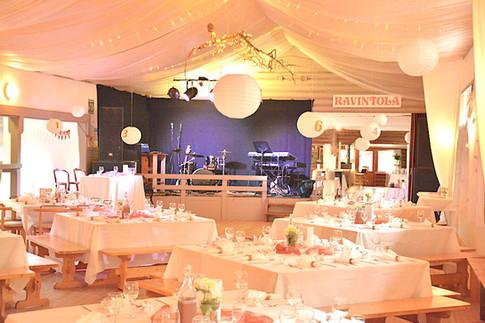 Tanssitalon sali .. ballroom .. La salle en fête