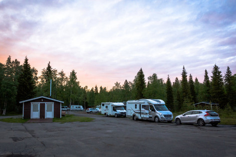 Palojärven Lomakeskus, asuntoautot