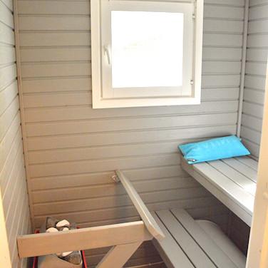 Mustikka, sauna