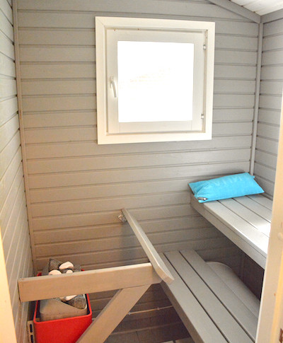 Karpalo, sauna