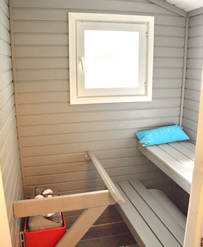 Puolukka, sauna