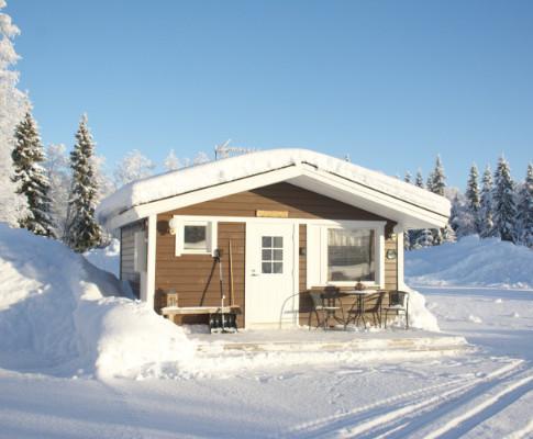 KARPALO, 2 hengen saunallinen mökki .. 2 person cottage with sauna .. chalet double avec sauna
