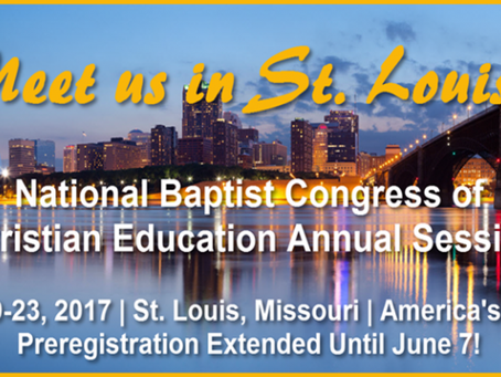 National Baptist Convention 2017!