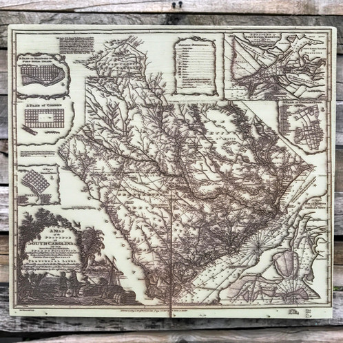 Map of south carolina 1773 historical freerunsca Image collections