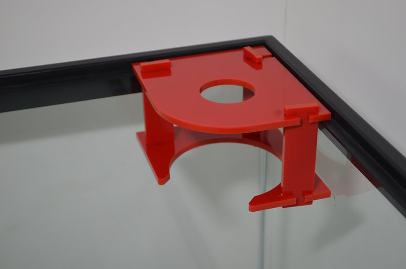 "4"" filter sock holder (red)"