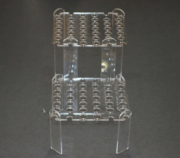Acrylic Coral Frag Rack Square Multi level Stand