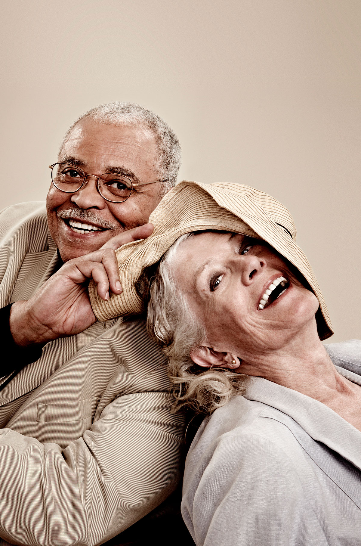 James Earl Jones & Vanessa Redgrave