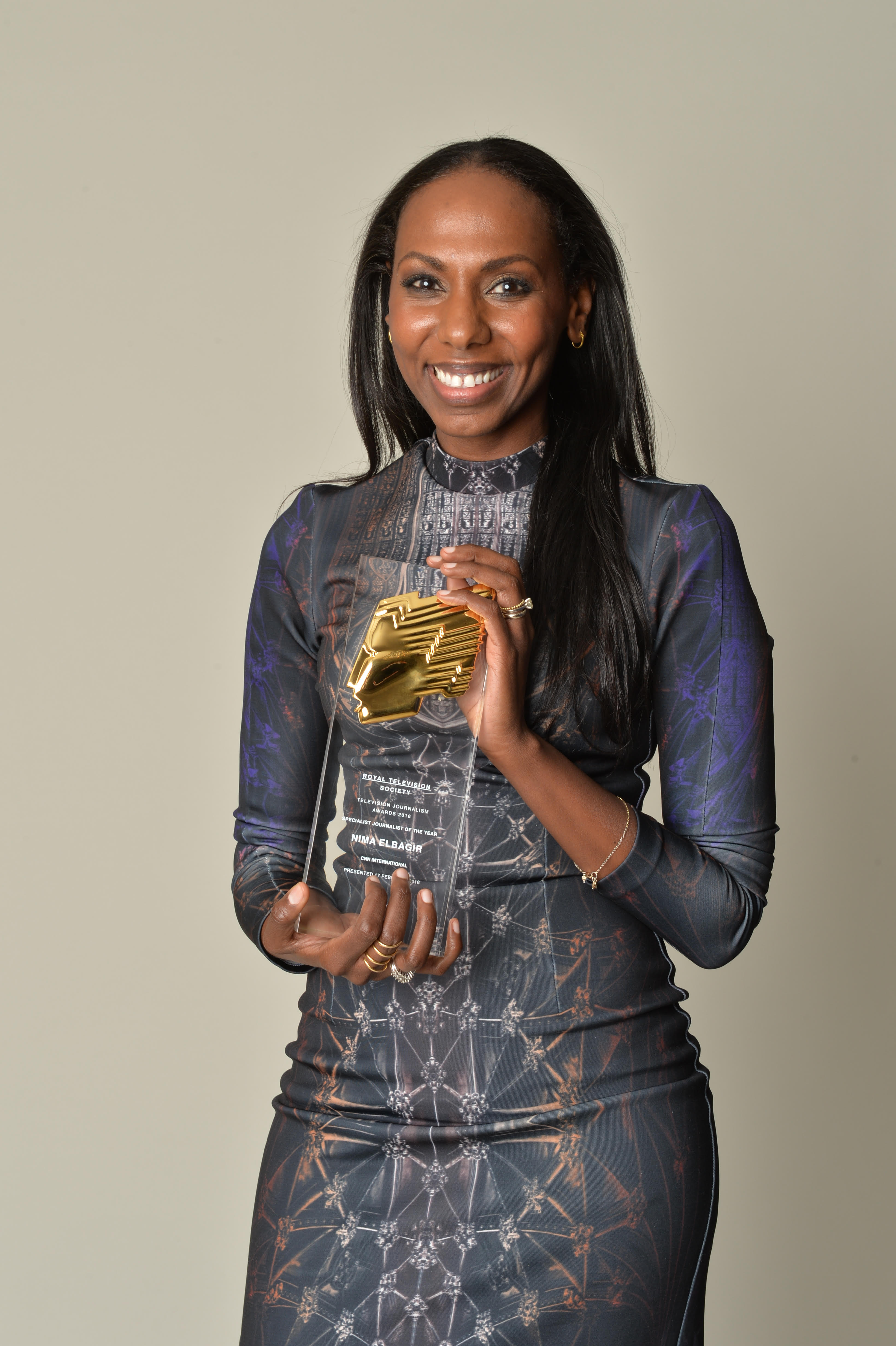 CNN Nima Elbagir RTS Awards 2016