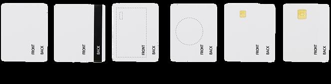 บริการพิมพ์ภาพบนบัตร PVC