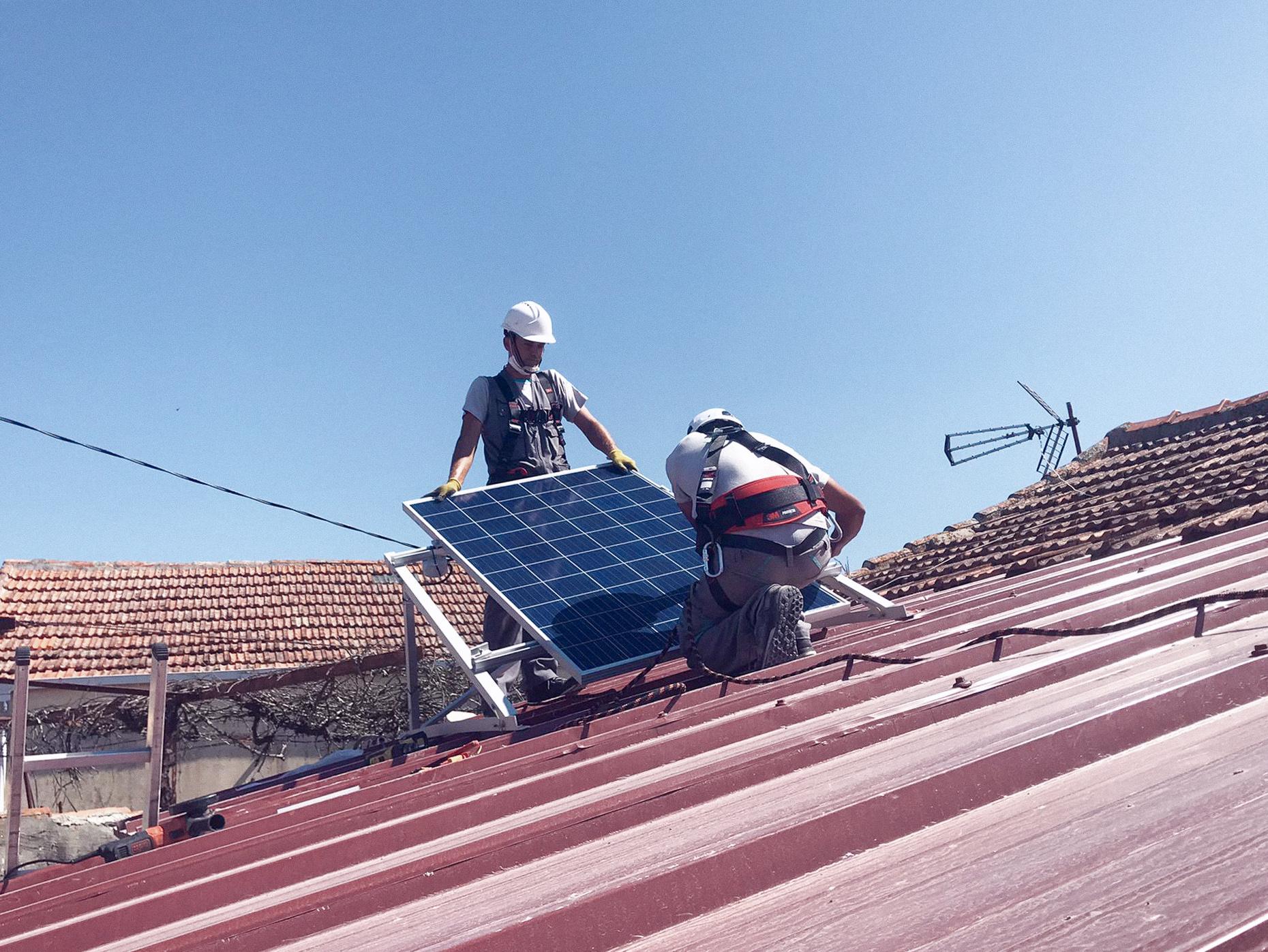 Instalação Painel Solar Porto