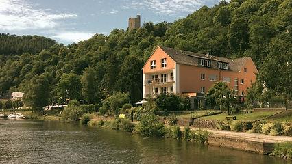 Das Haus am Fluss in Laurenburg an der Lahn