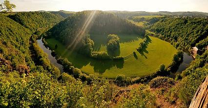 Ein schöner Aussichtspunkt mit tollen Blick auf die Lahn.