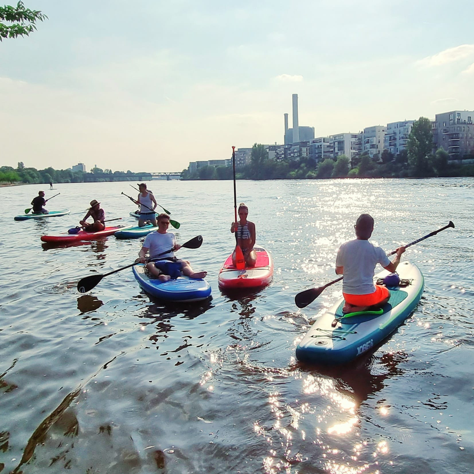 After Work SUP in Frankfurt am Main