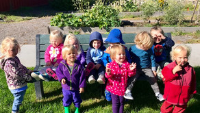 Pre-Primary: Sweet Pea - Sept. 2019