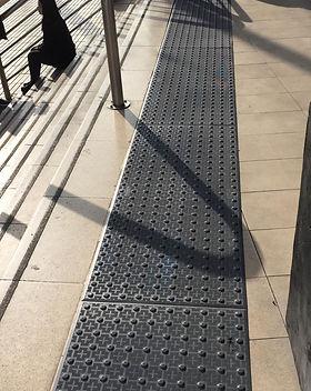 Paneles Podotactiles Espacio Urbano Las Rejas