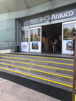 Paneles Podotactiles Parque Arauco