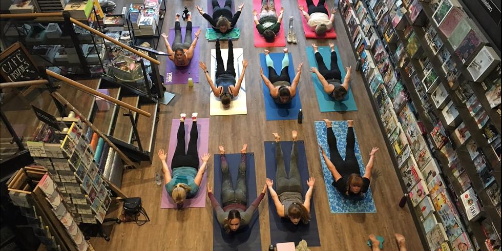 Summer Yoga Flow at Magazine Heaven