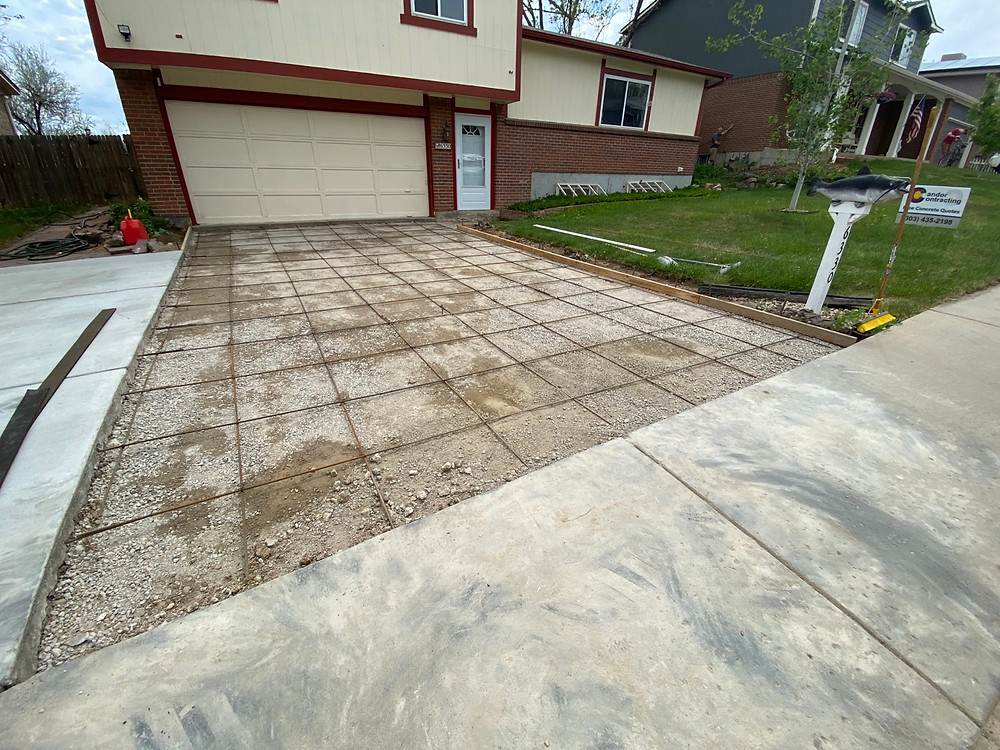 New Driveway Installation Formation