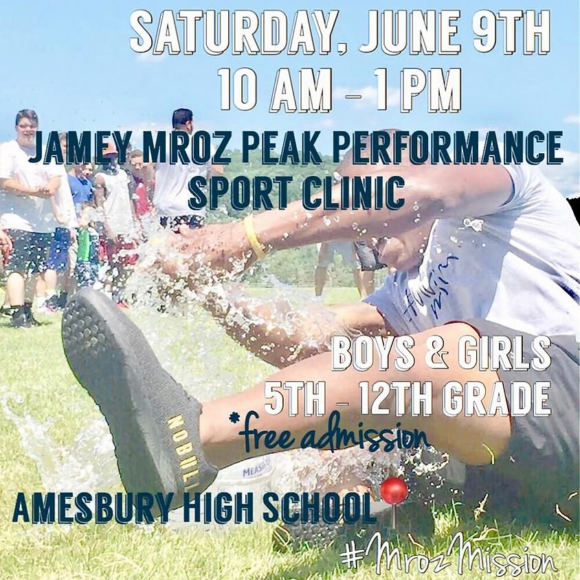 Jamey Mroz Peak Performance Sport Clinic
