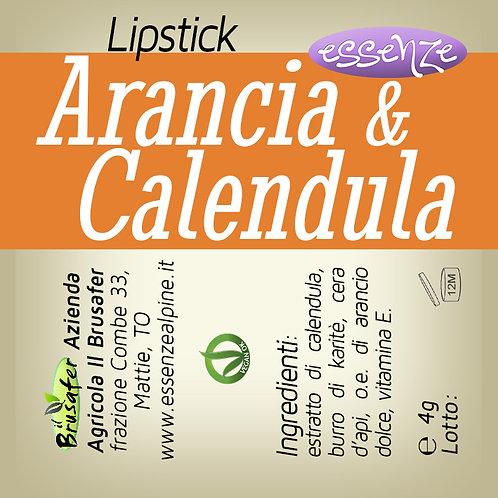 Stick labbra alla Calendula e arancio dolce