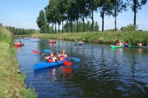 Kajak en kano      - 5km