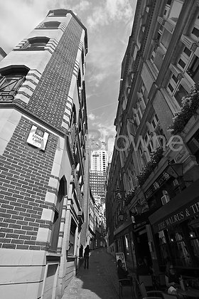 Lovell Street, London B&W