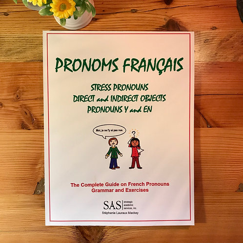French Pronouns - Grammar and Practice