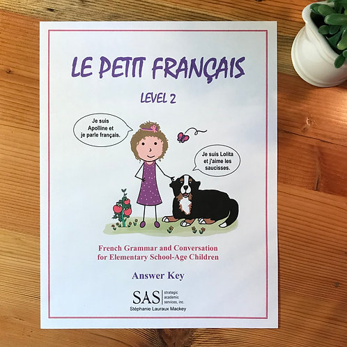 Le Petit Français- Level 2