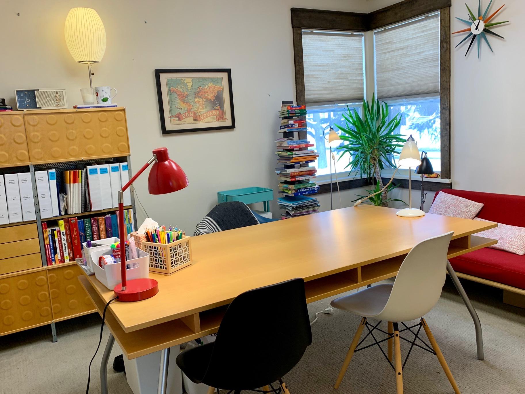 Isabelle's teaching room