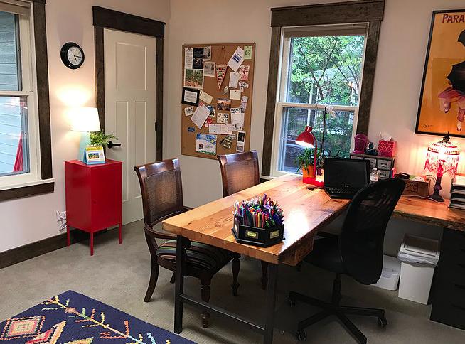 Stéphanie's teaching room