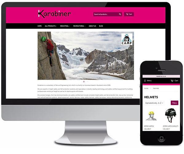 Web Design - Online Shop