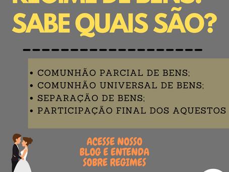 REGIMES DE BENS DO CASAMENTO | Qual é o melhor?