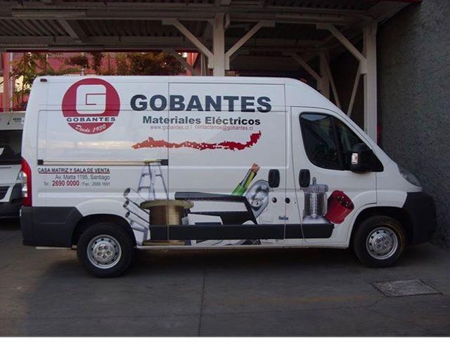 Flota de camionetas GOBANTES 🔸🔹. Impre