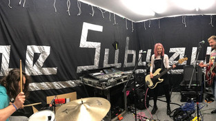 Rehearsals at YFE Studios - In the live room! Photos & Billy update!