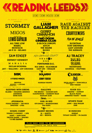 READING & LEEDS FEST 2020 announced! We are back on the MAIN STAGE !!!