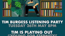 Tim Burgess Twitter Listening Party!! Tuesday 26th May 8pm
