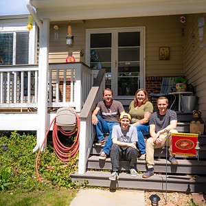 Apell Family Porch Portraits