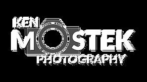 Ken Mostek Photography Camera LOGO white