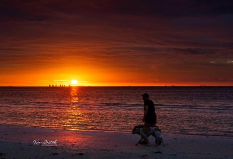 2018 Sanibel Sunset Dog Walk watermark f