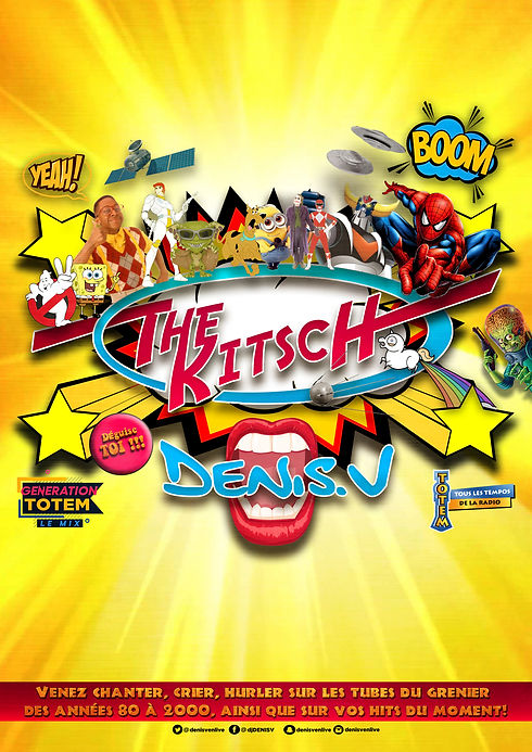 THE-KITSCH-by-DENIS-V----affiche-A3-temp