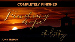 Finding hope - Completely