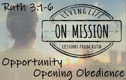 Opportunity Opening Obedience
