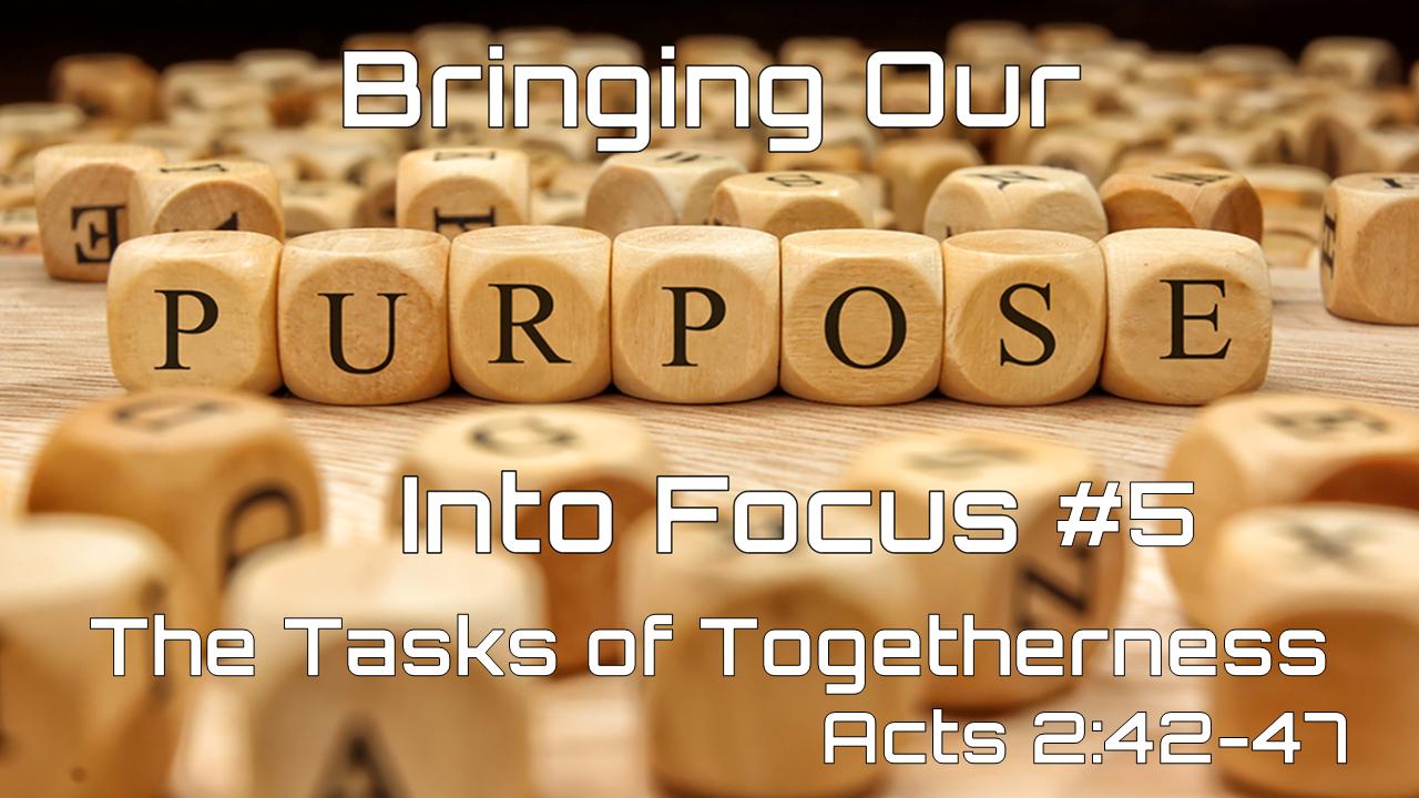 #5 The Tasks of Togetherness