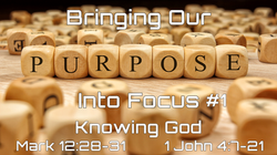 #1 Knowing God